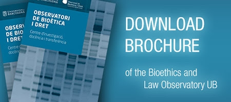 Presentation | Bioethics and Law Observatory (OBD) of the University of Barcelona