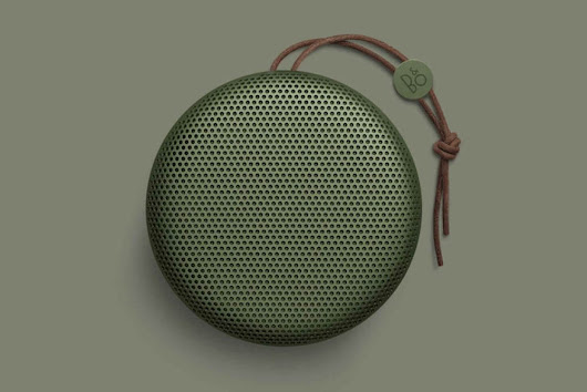 The Perfect Speaker for Travel - Bang & Olufsen A1