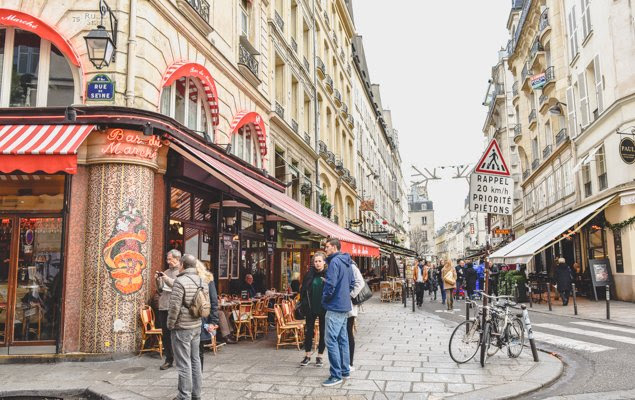 Image result for Paris street signs rue de la seine