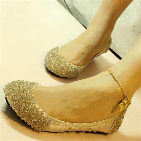 US5 9 Hot Leather like Princess Wedding Shoes rhinestone