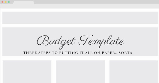 Putting It All On Paper… Sorta - A Budget Template | The Common Cents