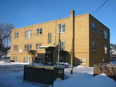 Apartment Building (Back)