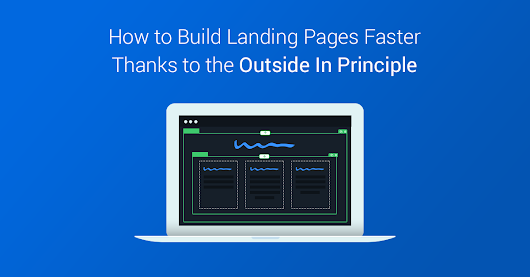 Feel like there must be a quicker way to customize landing pages?