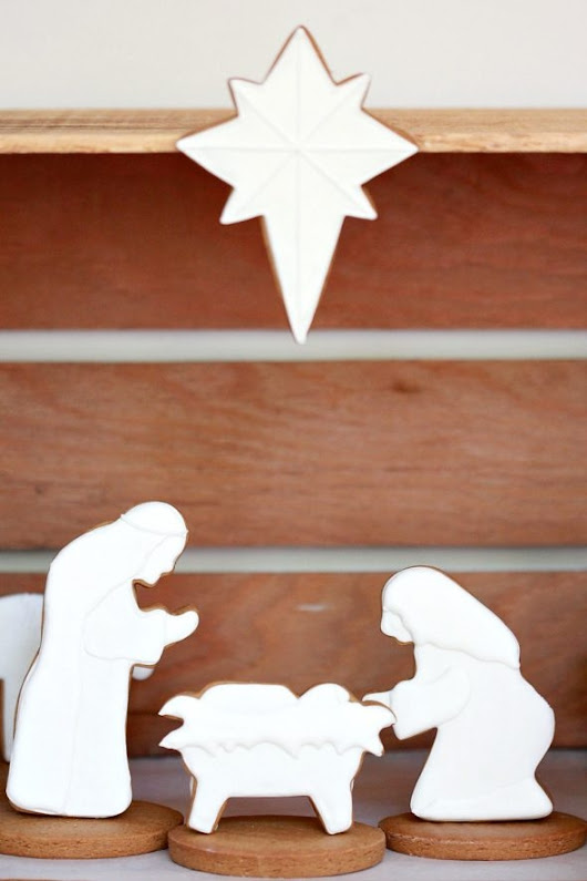 Nativity Decorated Cookies | Sweetopia