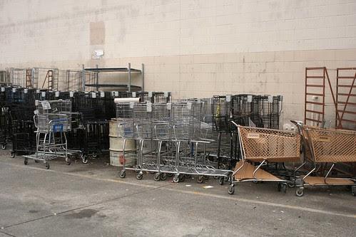 Shopping cart herd