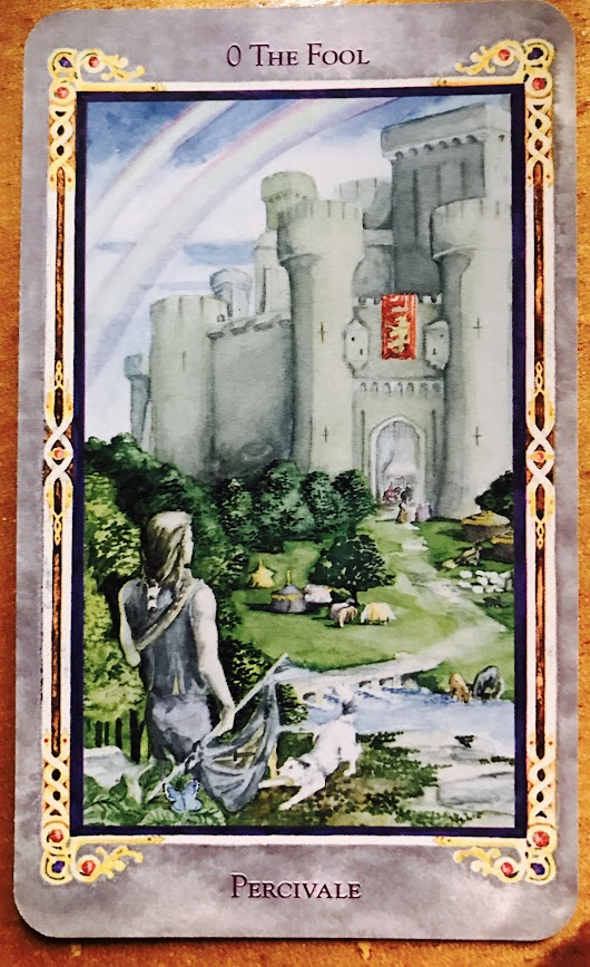 Arthurian Tarot~ Card 0 The Fool~ Percivale | Home | Jill Roberts Upper East Side Medium