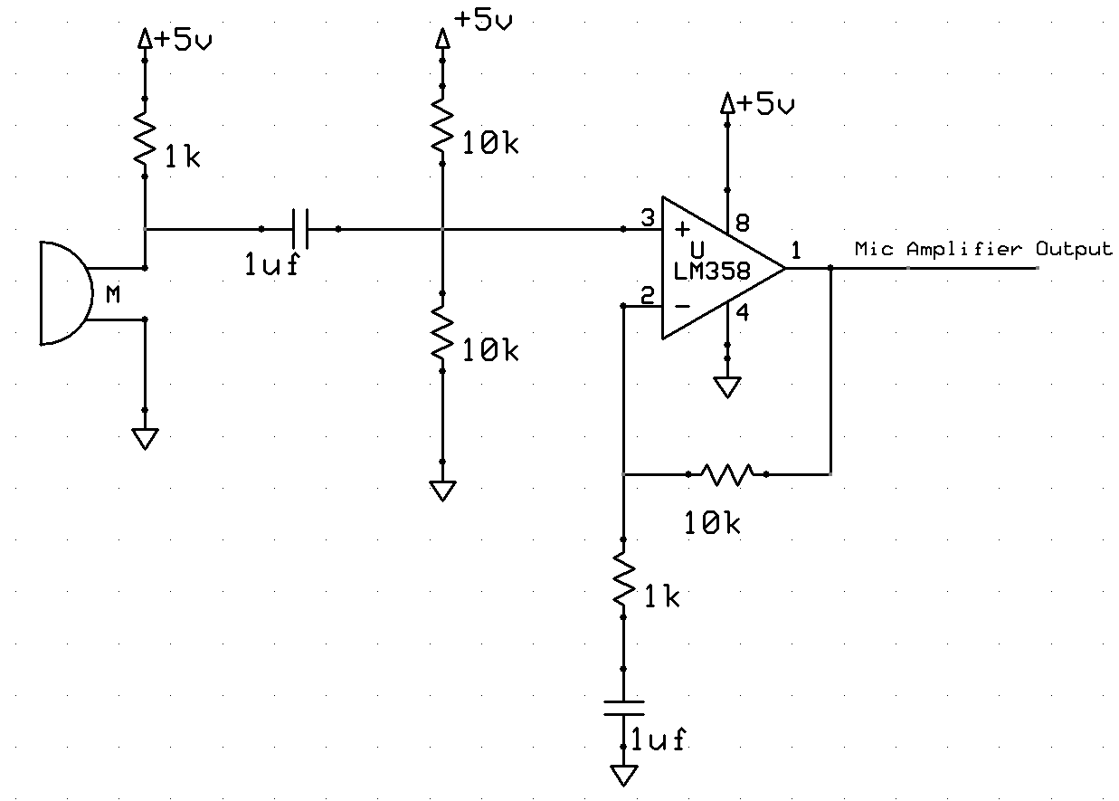 lm358 amplifier circuit