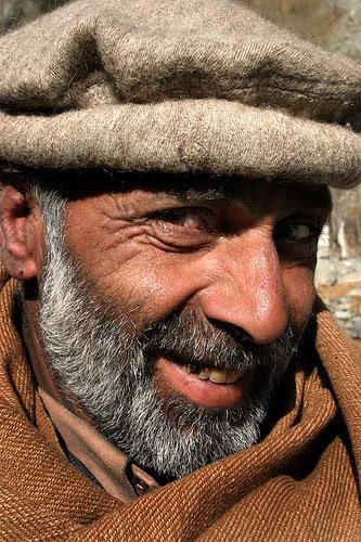 Smiling Pakistani