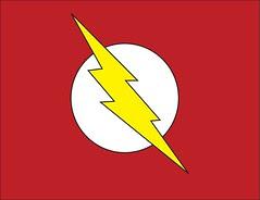Plantilla de emblema de Flash