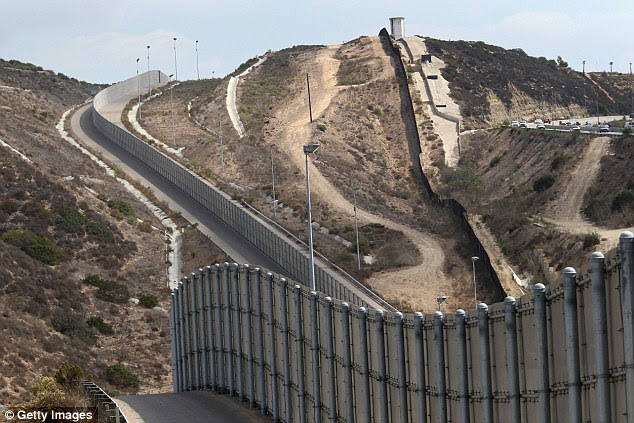 Image result for trumps border wall