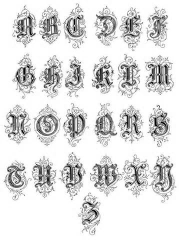 1000+ images about letters on Pinterest | Lettering tattoo, Fonts ...