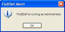 FixIEDef