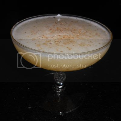 palace hawaii cocktail egg white sour