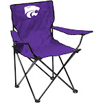 Kansas State Wildcats Quad Folding Camp Chair