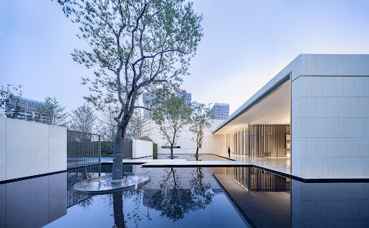 Wuhan Financial City No.1 Courtyard Life Experience Center / gad | ArchDaily