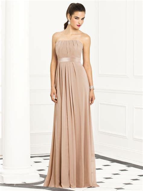 Champagne Color Bridesmaid Dresses Strapless Champagne