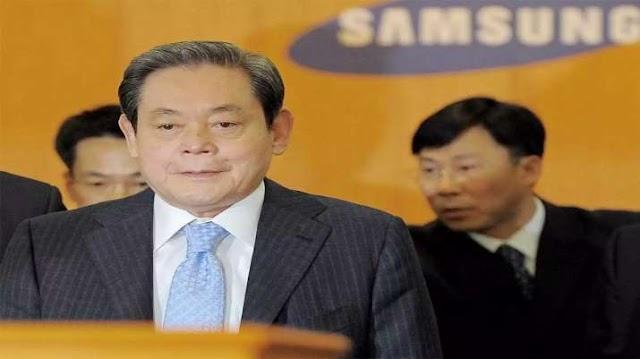 सैमसंग के चेयरमैन ली कुन-ही का 78 वर्ष की उम्र में निधन