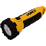Dorcy 41-2510 Floating Led Flashlight With Carabineer Clip, 55 Lumens