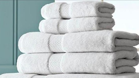 White Linen Rental offer a Bathroom Towel for Luxury Yachts & Private Jets