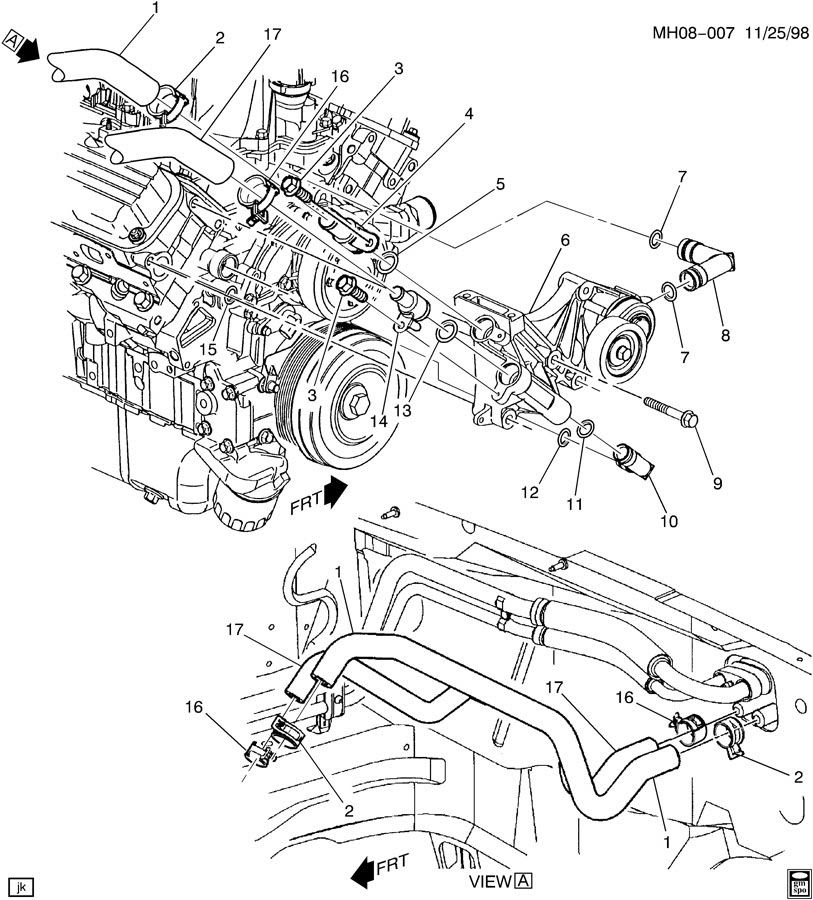 Chevy 3 8 Engine Diagram