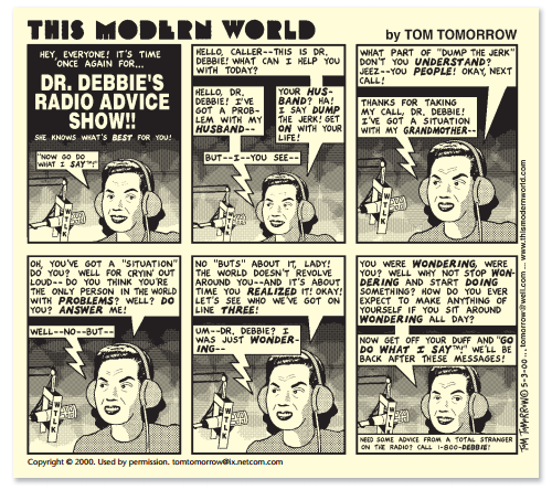 Beginilah Dunia Modern (by Tom Tomorrow)