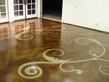 concrete floor art floor seasons inc_52081