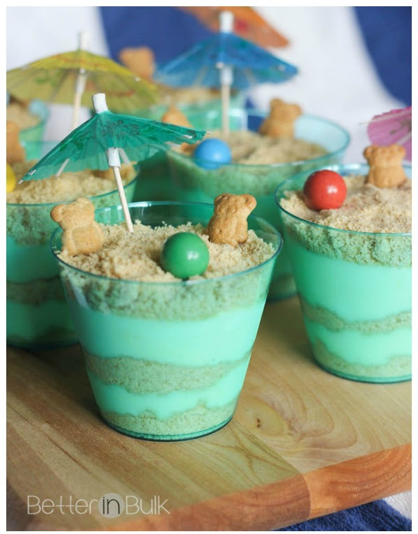 Sand Pudding Cups - Food Fun Family