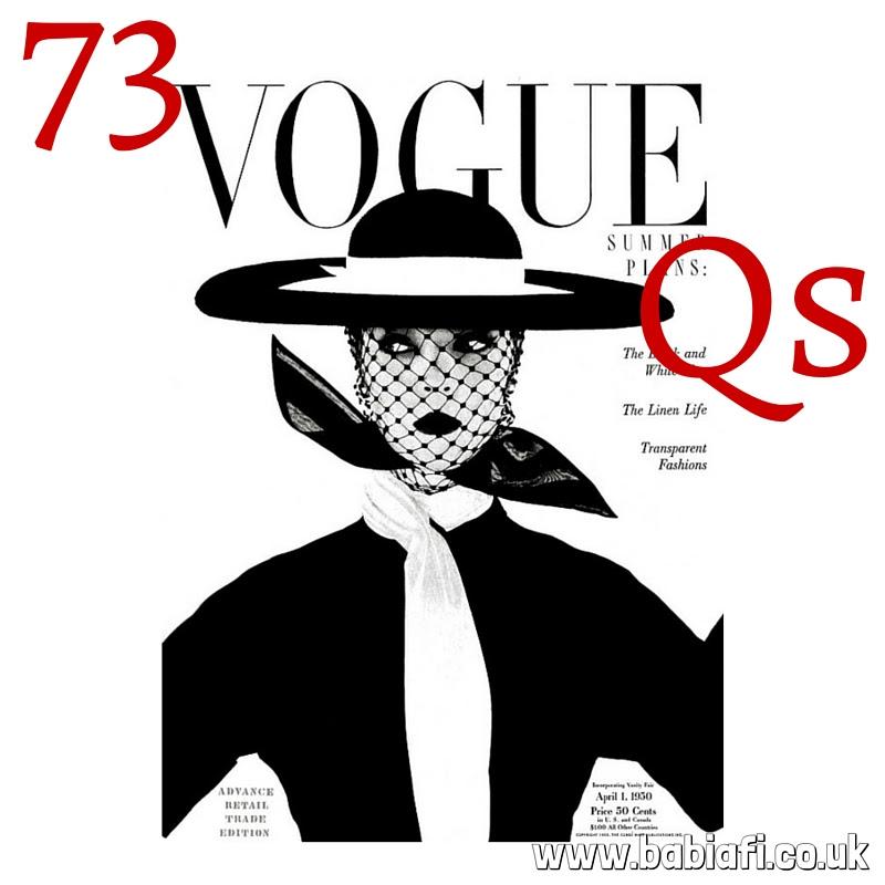 73 Vogue Questions