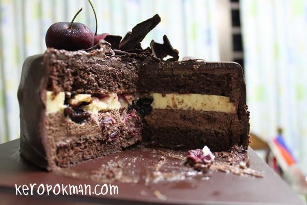Laurent Bernard Black Forest Cake