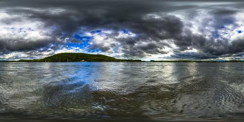 In the lake - Equirectangular Panoramic