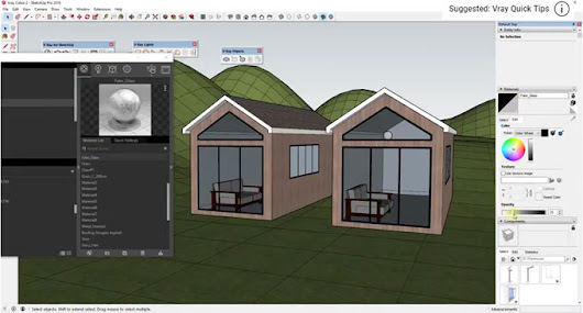 Vray Transparent Glass Material Settings | Vray Glass Material Sketchup