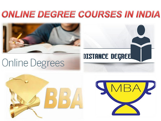 online degree courses in india