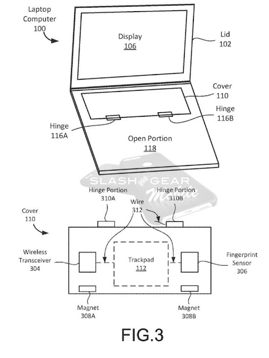 Google awarded patent for crazy 2-in-1 laptop design