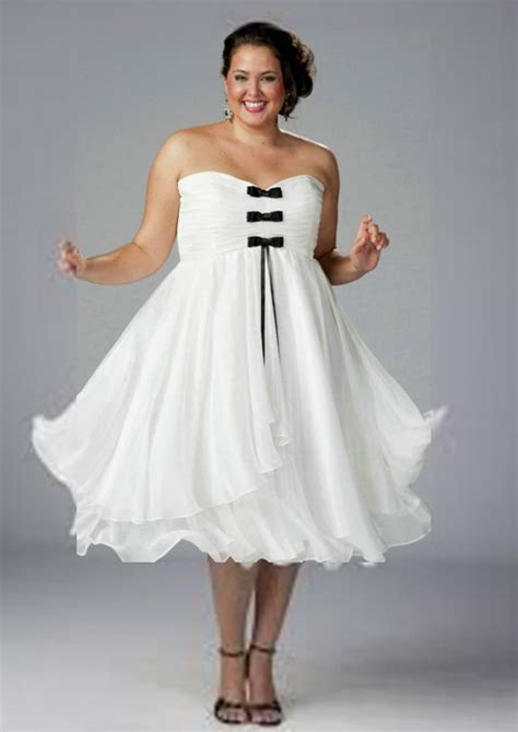 Plus Size Summer Simple Wedding Dresses   Styles of