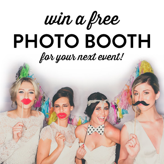 WIN a FREE Photo Booth Hire for your Wedding, Party, Event!!