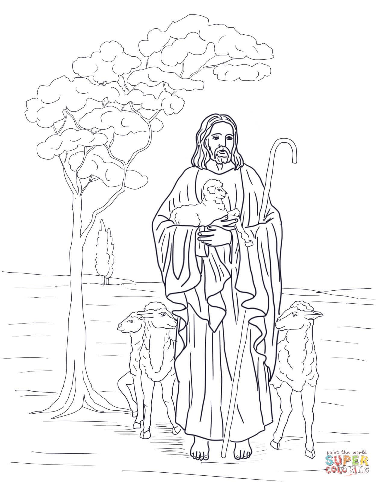 Klick das Bild Jesus ist unser Hirte