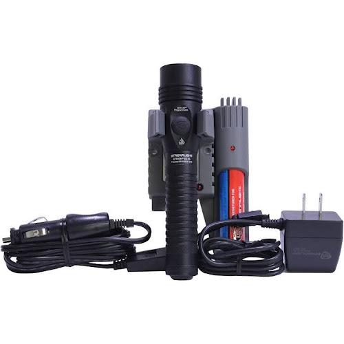 Streamlight 74819 Black Strion DS HPL 700 Lumen LED Flashlight AC DC Piggyback
