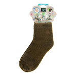 Earth Therapeutics - Aloe Socks Foot Therapy To Pamper and Moisturize Brown, 1 Pair