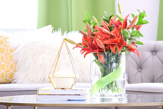 DIY Simple Vase Makeover With Tape - Casa Watkins Living