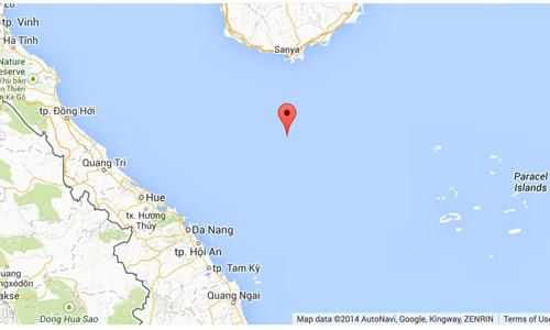 giàn khoan, Nam Hải 9, TQ, vịnh Bắc Bộ, luật biển, Biển Đông