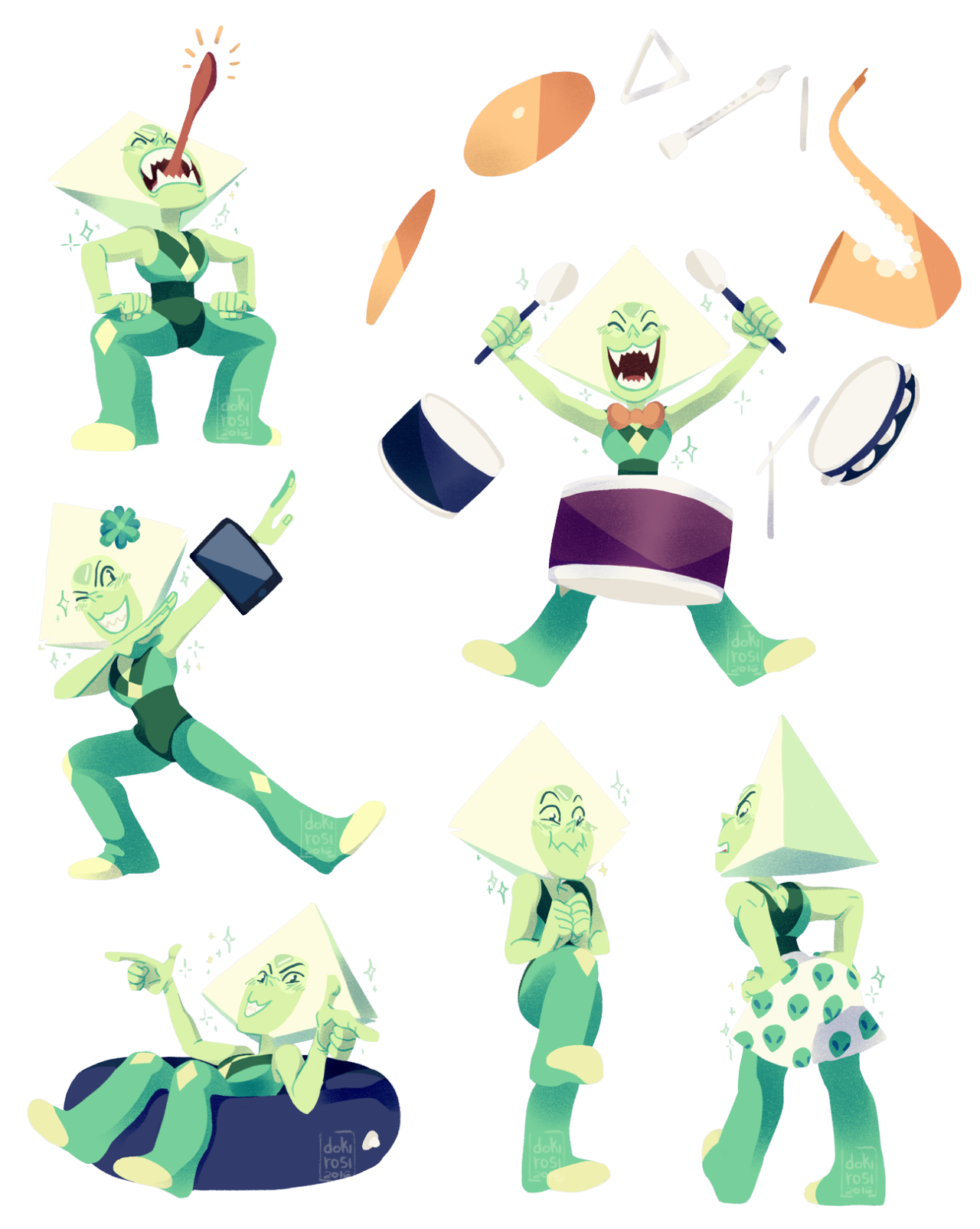 Angry little slice of pie! also me trying new things I know, I don't draw peridot as much… and looking back to barn episodes… She really does steal the show, doesn't she? Had I the hardest time to get...