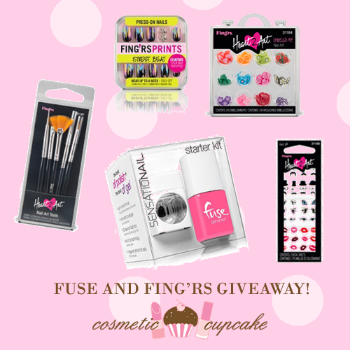 Belated 4th blogiversary giveaway! Week 1: Fuse and Fing'rs