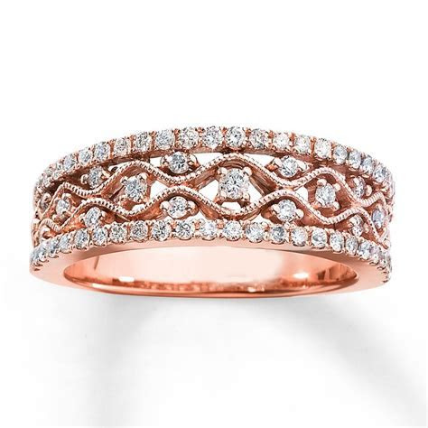 9 Beautiful Designs of Rose Gold Rings for Special Occasions