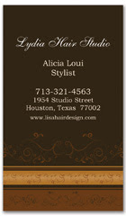 BCS-1026 - salon business card