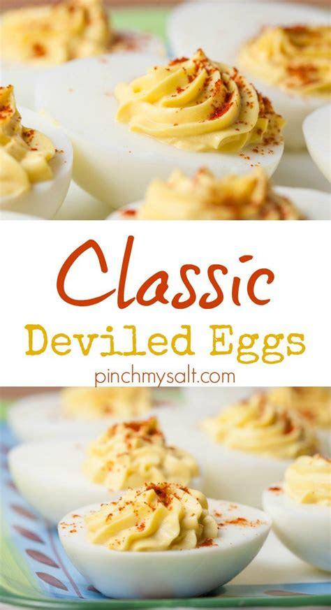nicoles  basic deviled eggs recept