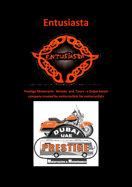 Prestige Motorcycle Rentals & Tours - a Dubai-based company created by motorcyclists