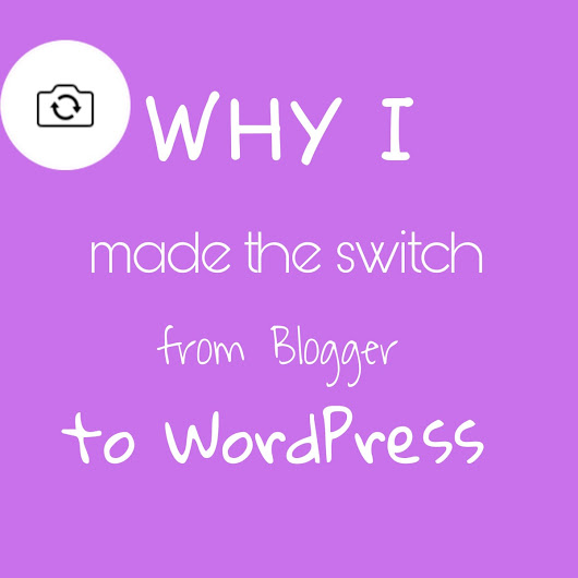 Why I made the switch to WordPress  (sponsored post)