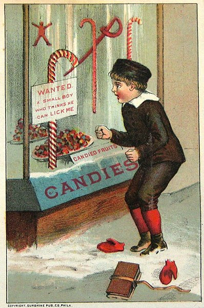 File:Candy cane William B Steenberge Bangor NY 1844-1922.jpg