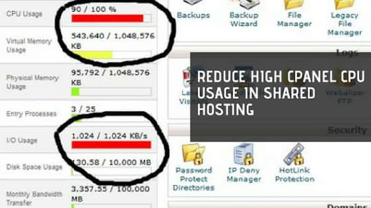 Reduce High cPanel CPU Usage in Shared Hosting | Logical Nerds