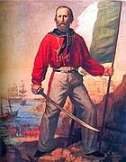 Il patriota Giuseppe Garibaldi
